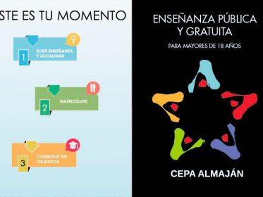 Imagen de la noticia Educación para adultos, abierta la reserva de plazas