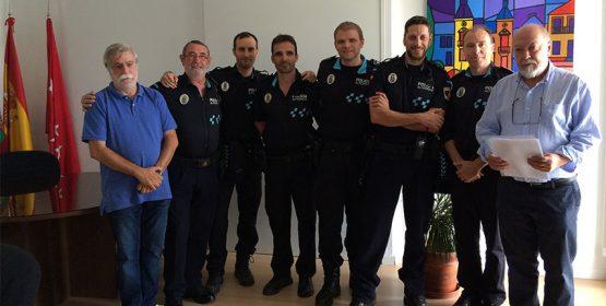 Imagen de la noticia Reconocimiento a 10 policías locales