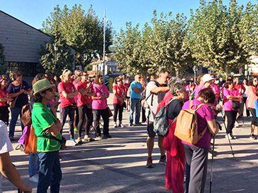 Imagen de la noticia La Marcha Rosa contra el cáncer de mama ha recaudado 1.379,95 euros
