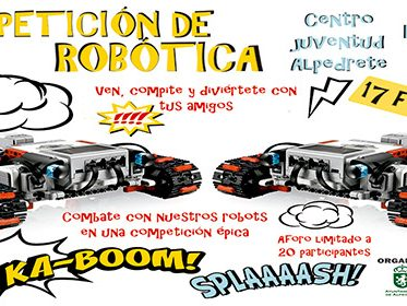 Imagen de la noticia Combate de robots en el Centro de Juventud