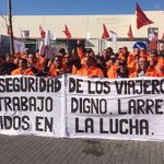 Imagen de la noticia Suspendido el paro en autobuses Larrea este lunes y martes