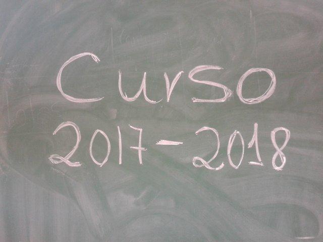Resultado de imagen de curso 2017-2018