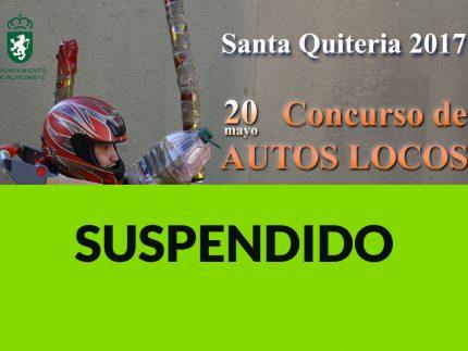Imagen de la noticia Suspendido el concurso de Autos Locos