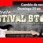 """Imagen de la noticia La lluvia traslada a """"El Límite"""" el quinto concierto de Festival Stone"""