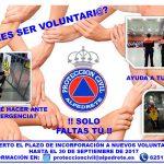 Imagen de la noticia ¿Quieres ser voluntario de Protección Civil?