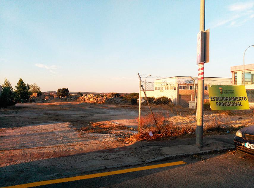 Imagen de la noticia Desde el lunes 23 no se podrá usar el aparcamiento de la calle Puerta de Abajo