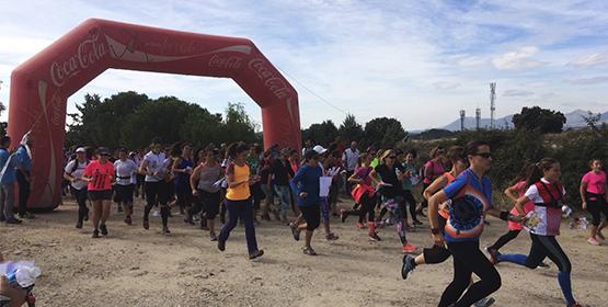 Imagen de la noticia Dos centenares de mujeres participaron en la carrera de orientación