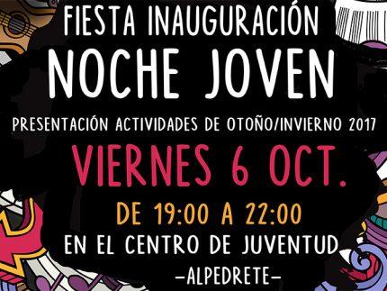 Imagen de la noticia Fiesta de inauguración de la Noche Joven