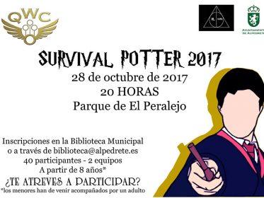"""Imagen de la noticia """"Survival (supervivencia) Potter 2017"""""""