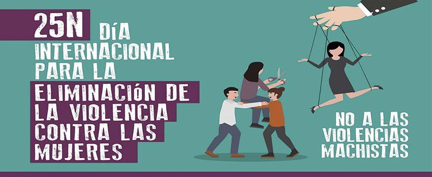 Imagen de la noticia 25 N Día Internacional para la eliminación de la violencia contra las mujeres