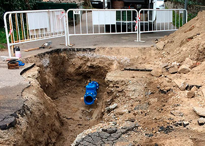 Imagen de la noticia Hórreo VI y Los Berrocales, obras en la red de agua