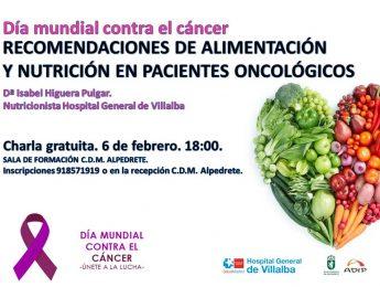 Imagen de la noticia Alimentación y nutrición para pacientes oncológicos