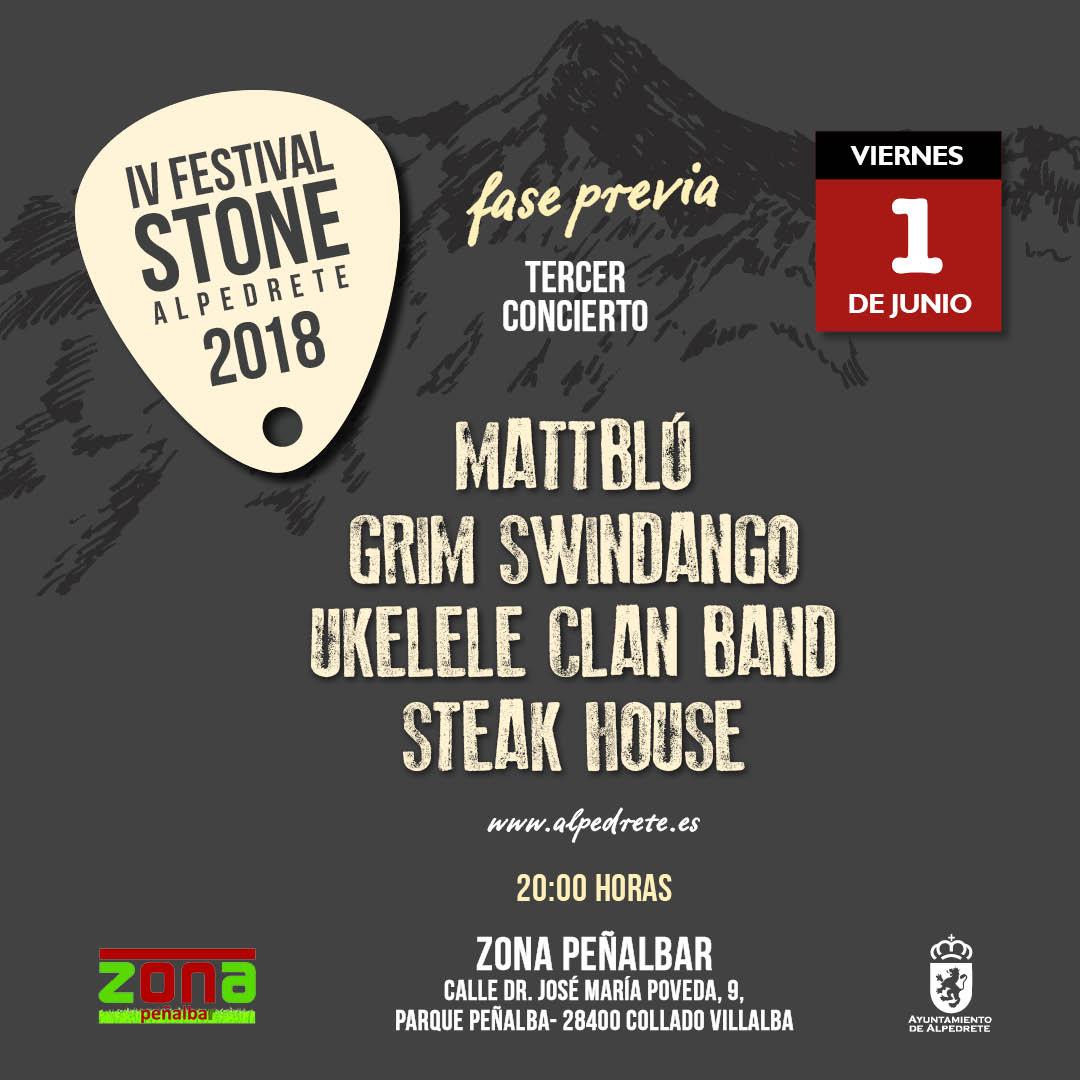 Imagen de la noticia Tercer concierto de Festival Stone 2018