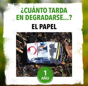 Imagen de la noticia El papel tarda 1 año en degradarse. En 2017 se recogieron 232 toneladas en Alpedrete