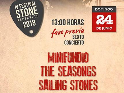 Imagen de la noticia Domingo de Festival Stone