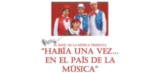 Imagen de la noticia «Érase una Vez… en el País de la Música», concierto didáctico y divertido