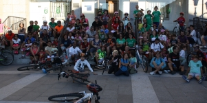 Imagen de la noticia 200 bicis para celebrar el Día Sin Coches