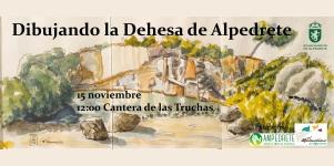Imagen de la noticia Dibujando la Dehesa de Alpedrete