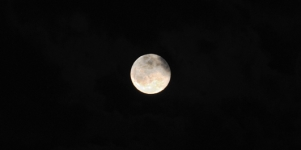 Imagen de la noticia La luna azul vista desde Alpedrete