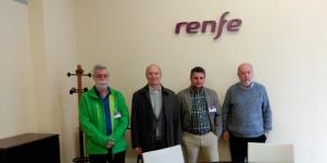 Imagen de la noticia Renfe construirá un paso a nivel en la estación de Alpedrete