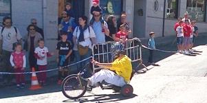 Imagen de la noticia ¡Apúntate a la divertida Carrera de Triciclos Locos de Santa Quiteria!