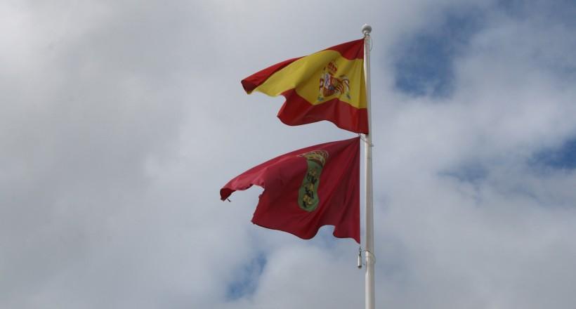 Imagen de la noticia Las banderas de España y Alpedrete ondean juntas