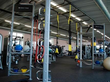 Sala de actividades deportivas