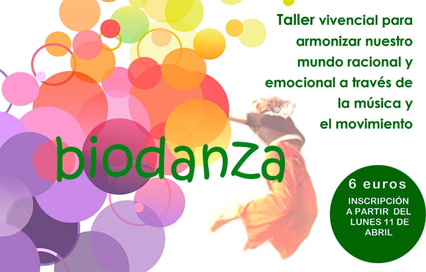 Imagen de la noticia Talleres de Biodanza