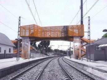 Imagen de la noticia Renfe propone una pasarela doble en la estación de Alpedrete