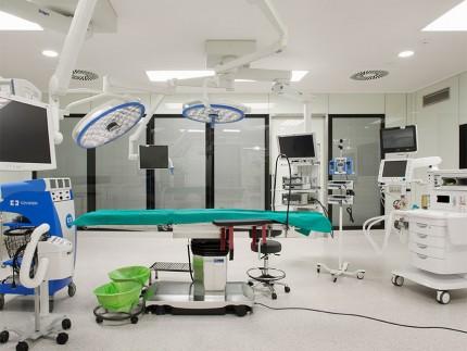Instalaciones médicas del Hospital General de Villalba