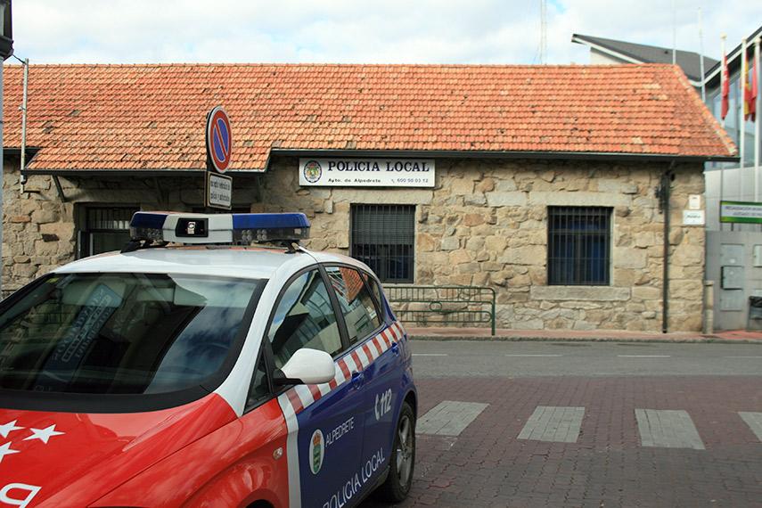 Imagen de la noticia La Policía Local de Alpedrete, en Facebook