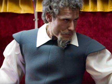 El Quijote en el Teatro Bus