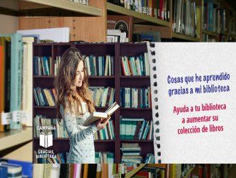 """Imagen de la noticia """"Gracias, biblioteca"""""""