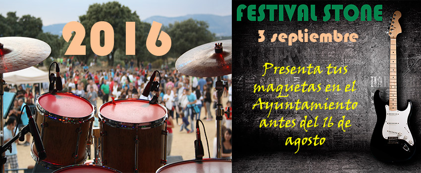 Imagen de la noticia Abierto el plazo de inscripción del Festival Stone 2016