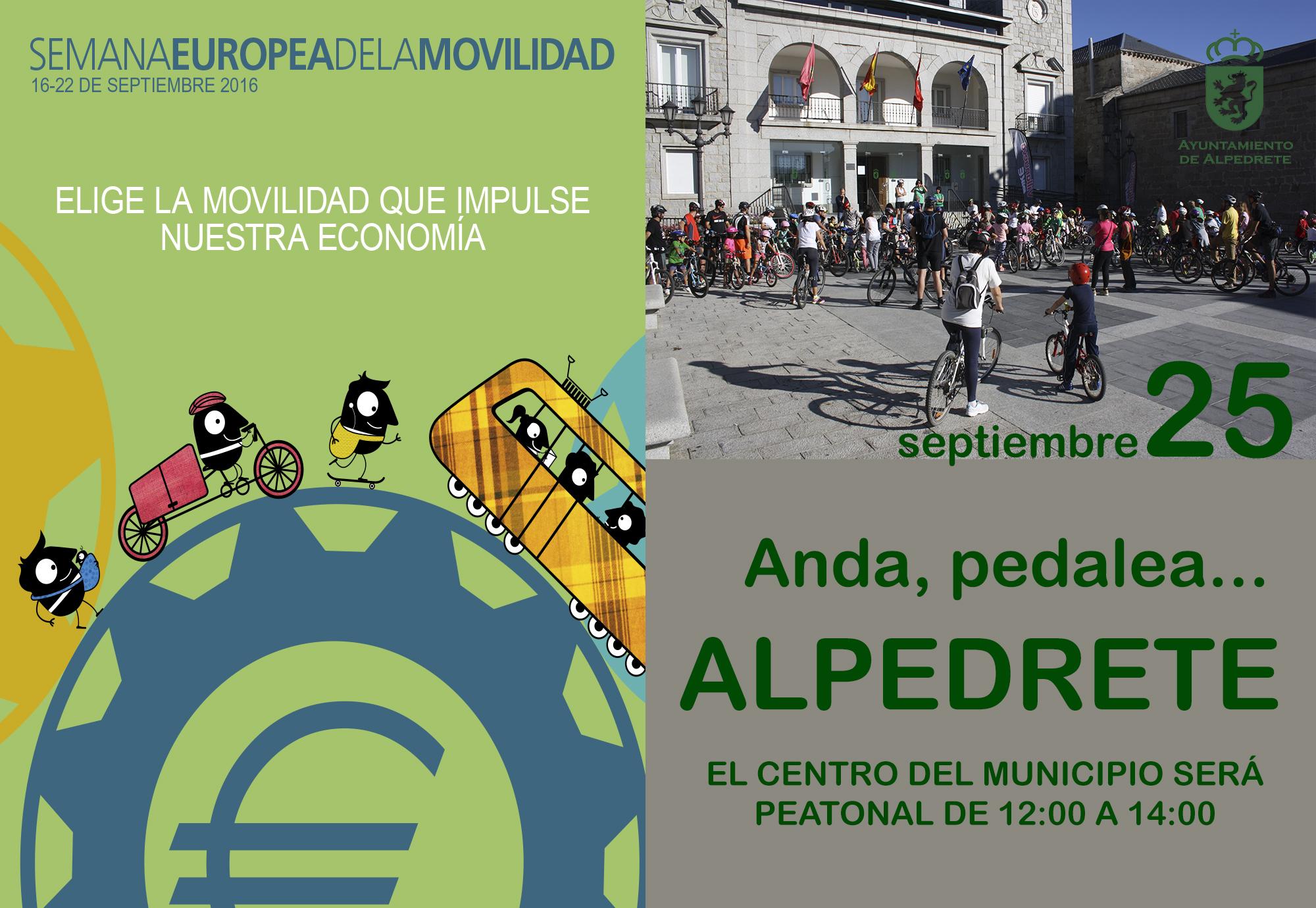 Imagen de la noticia Alpedrete, peatonal ¿Necesitas el coche?