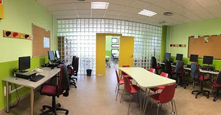Imagen de la noticia Nuevas aulas de estudio e informática en Juventud