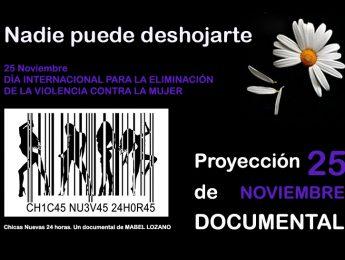 """Imagen de la noticia Documental """"Chicas Nuevas 24 horas"""", de Mabel Lozano"""