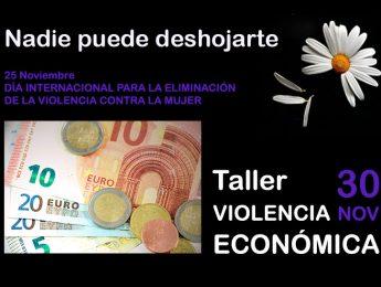 Imagen de la noticia Taller: Violencia económica