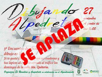 Imagen de la noticia Aplazado «Dibujando Alpedrete»