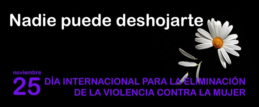 Imagen de la noticia Eliminación de la Violencia contra la Mujer