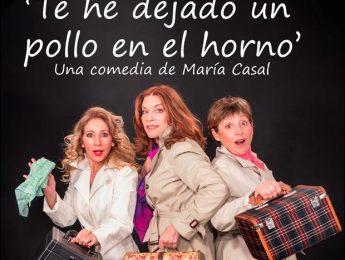 Imagen de la noticia «Te he dejado un pollo en el horno», una comedia de María Casal