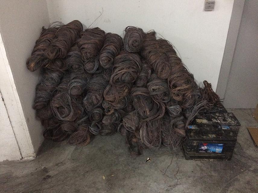 Imagen de la noticia La Policía Local decomisa 630 kilos de cobre