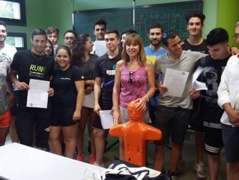 Imagen de la noticia Titulados 17 socorristas en Alpedrete