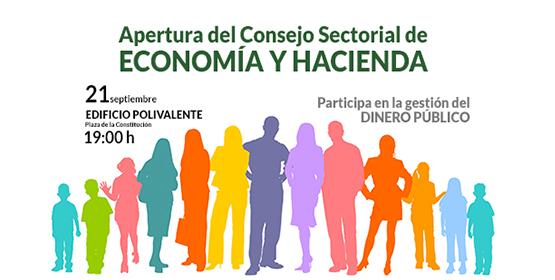 Imagen de la noticia Apertura del Consejo Sectorial de Economía y Hacienda