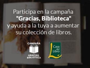Imagen de la noticia ¡Gracias, Biblioteca!