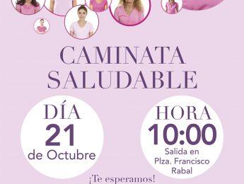 Imagen de la noticia Caminata saludable por el cáncer de mama