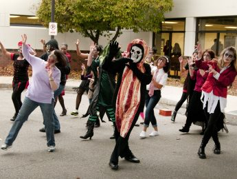Imagen de la noticia Flashmob «Thriller»