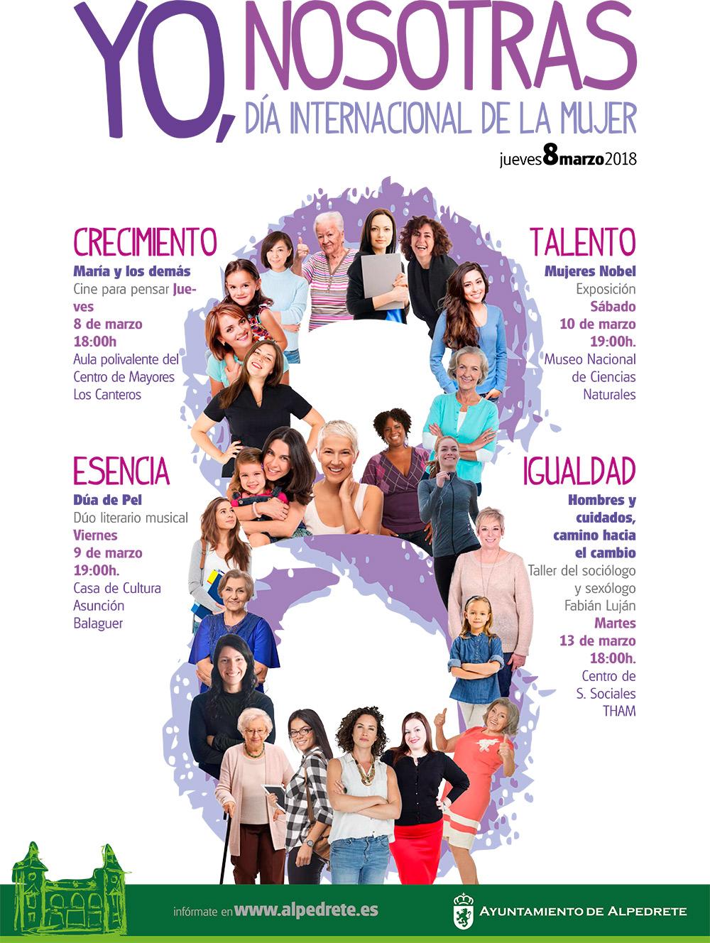 Dia Del Trabajador Mujeres día internacional de la mujer - web ayuntamiento de alpedrete