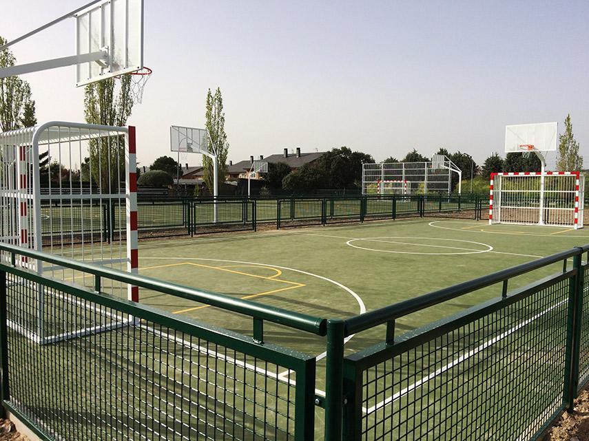 Imagen de la noticia Construcción y remodelación de pistas multideportivas