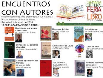 Imagen de la noticia Encuentros con autores, II edición